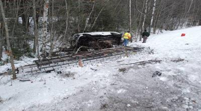 I-89 accident, Sutton, NH