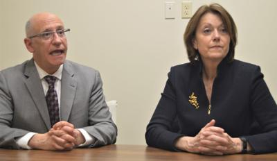 Dr. Joseph Pepe and Dr. Joanne Conroy