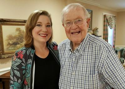 Robin Davidson and her dad Joe