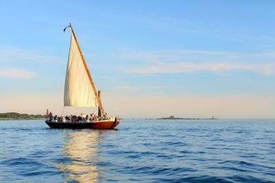 Gundalow sunset cruise