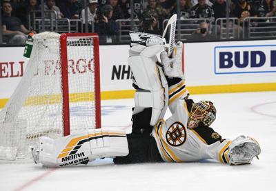 NHL: Boston Bruins at Los Angeles Kings