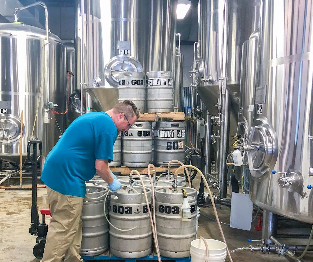Big numbers on tap for N H 's craft breweries | Business