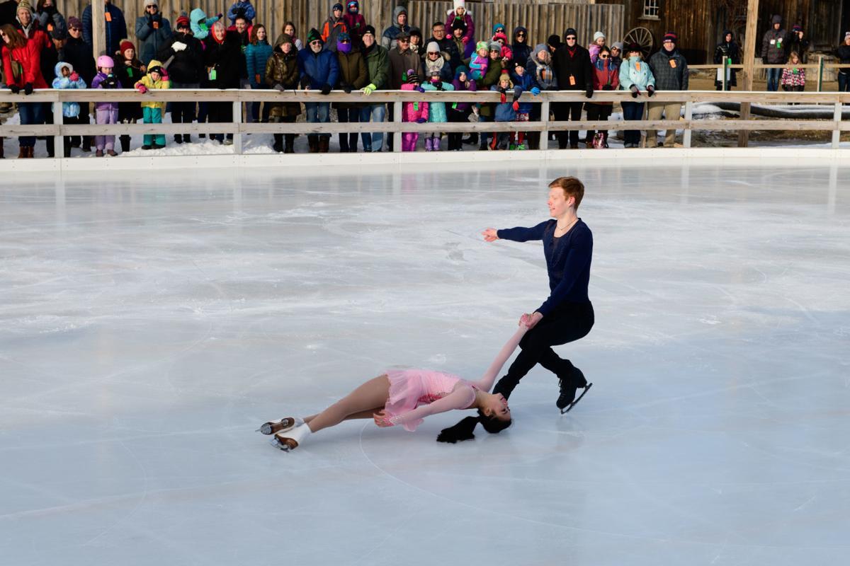 Skating stars glide into NH