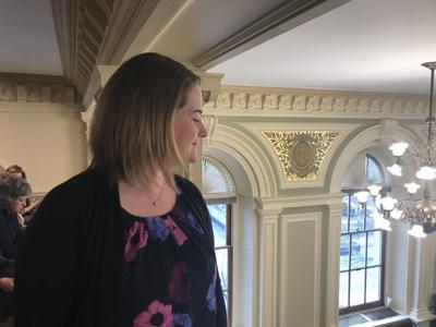 Samantha Wooten in Senate gallery