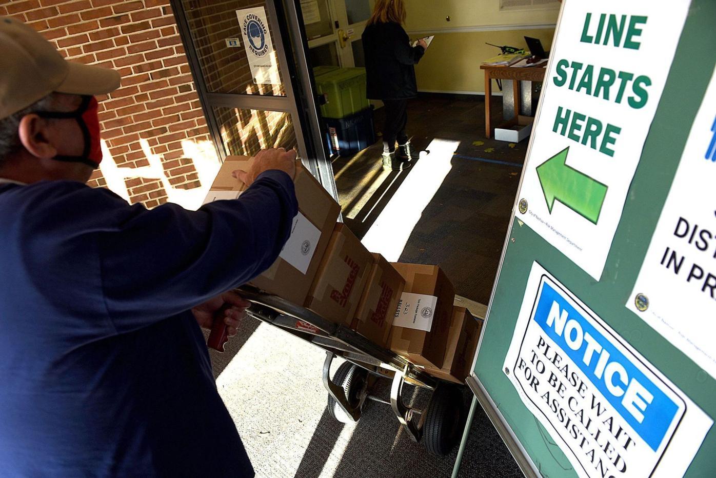 More ballots to Nashua