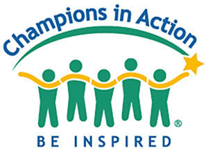 Champions in Action logo