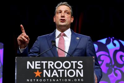 FILE PHOTO: U.S. Representative Tim Ryan speaks at the Netroots Nation annual conference for political progressives in New Orleans