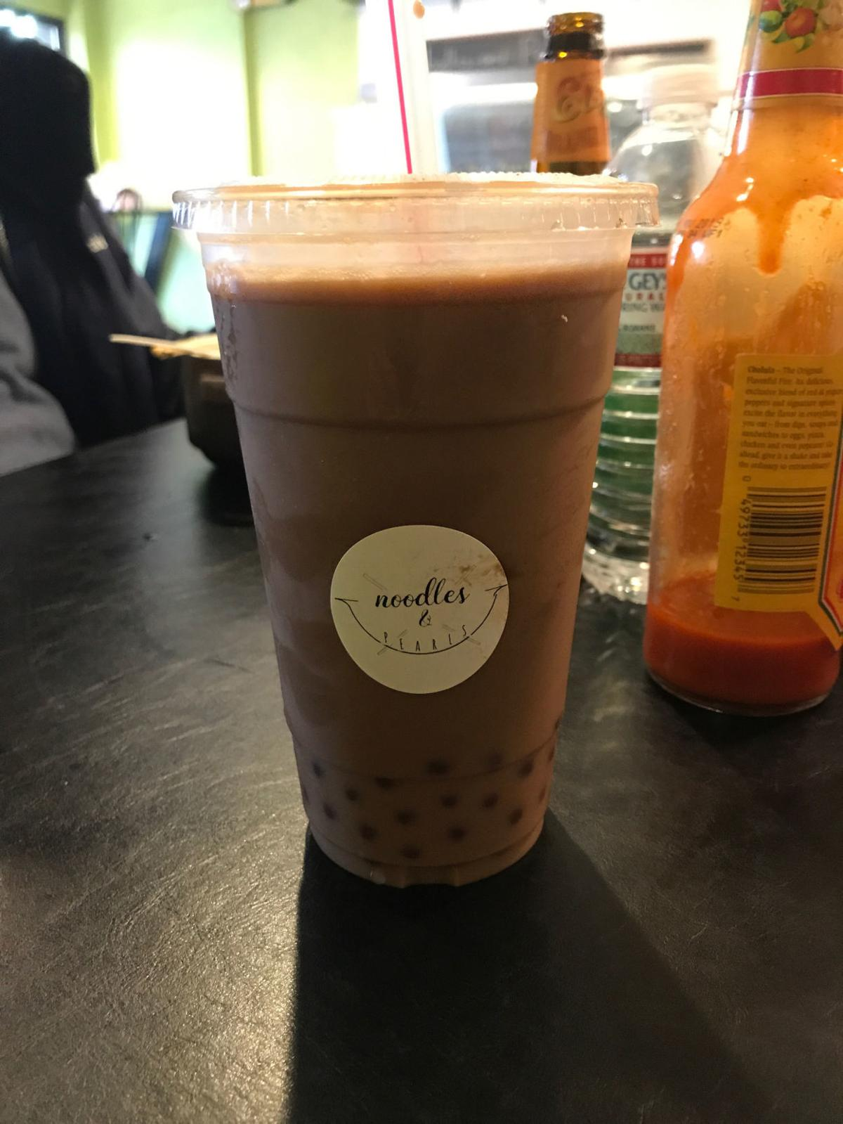 Chocolate Bubble Tea