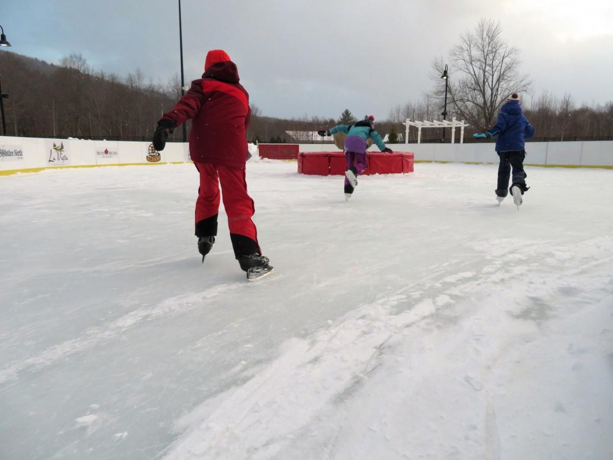 Winter Notes: Skating provides icy exhilaration