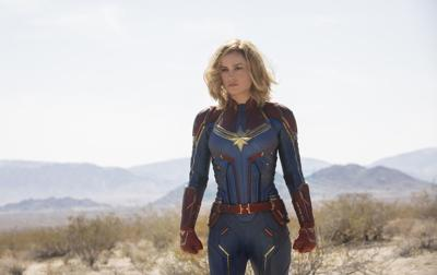 Brie Larson battles for a future in 'Captain Marvel'