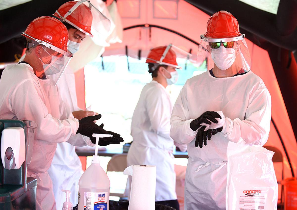 Coronavirus first responders