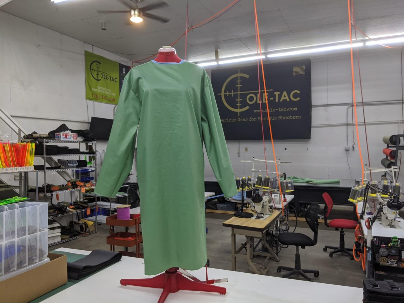 Cole-Tac gown