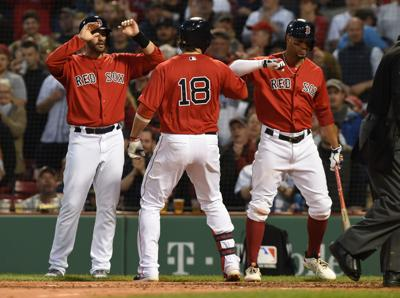 reputable site dfe93 b0fcd Red Sox crush Mariners 14-1, move above .500 | Red Sox ...