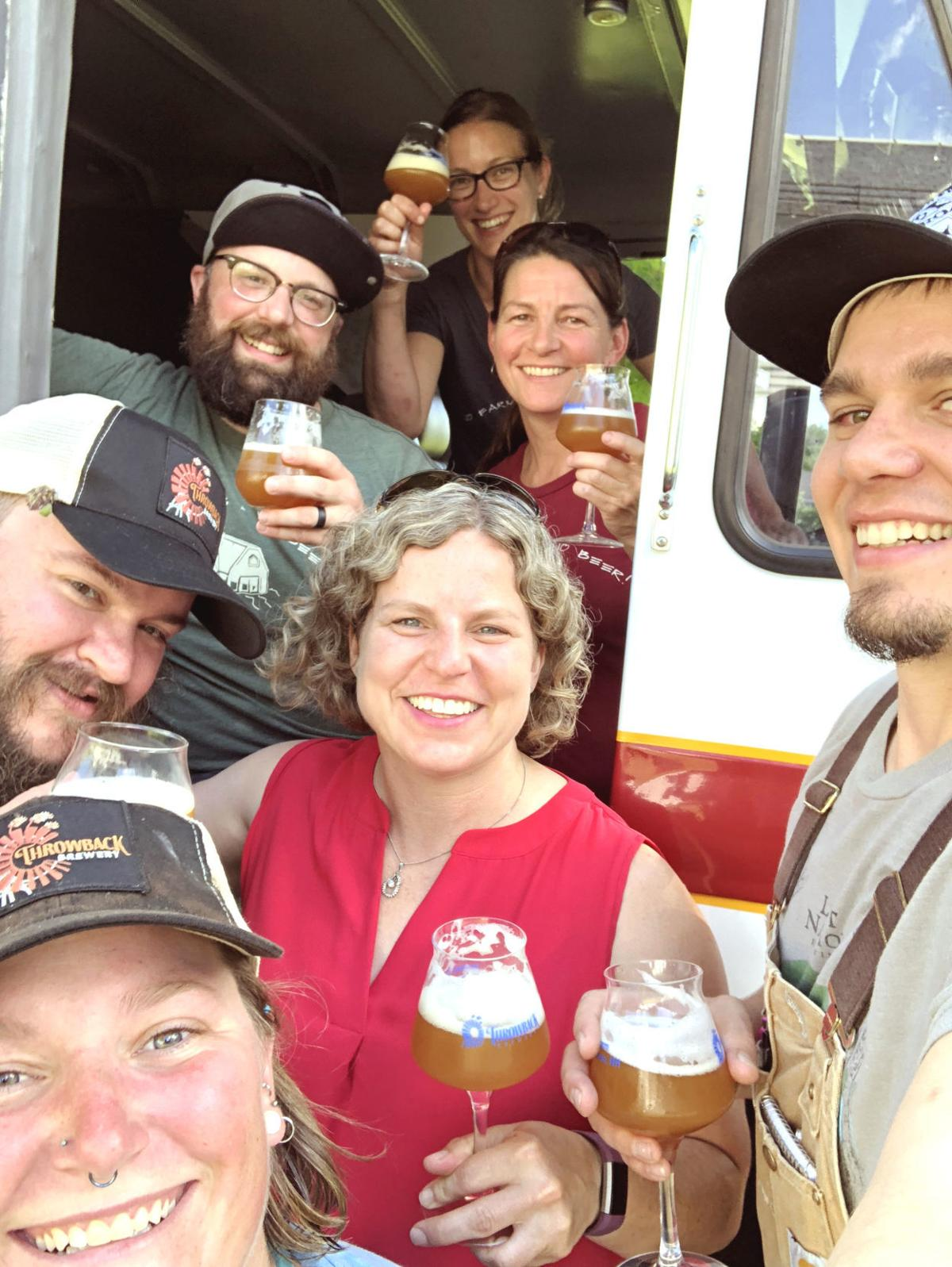 Throwback Brewery staff
