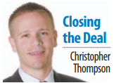 Closing the Deal by Christopher Thompson