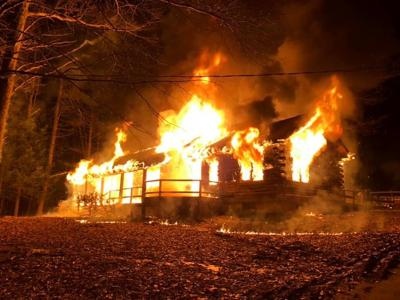 Photo: 190212-news-pbhousefire House destroyed in early morning fire