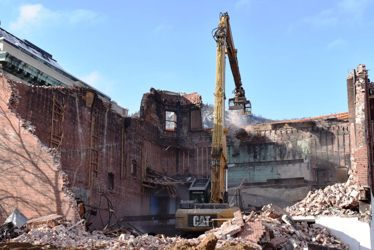 Berlin Theatre demolition