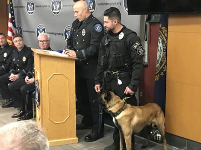 K9 Officer and Ammo