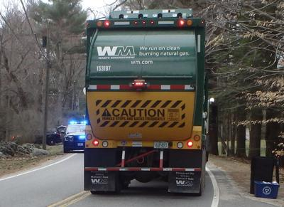 Bicyclist suffers serious injuries after collision with garage truck in North Hampton