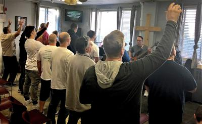 Easter message resonates at faith-based recovery program