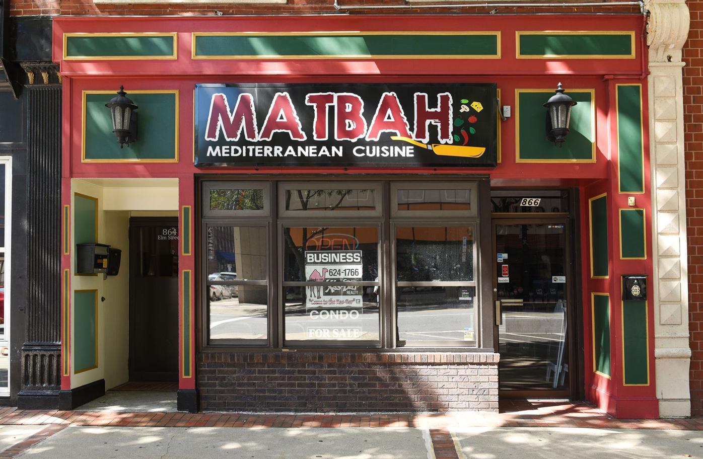 Matbah Mediterranean Cuisine closed in April