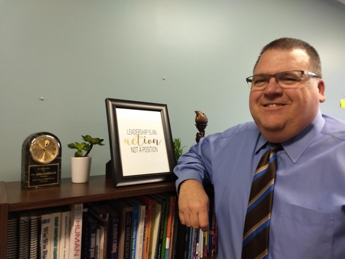 Manchester's new school superintendent Dr. John Goldhardt