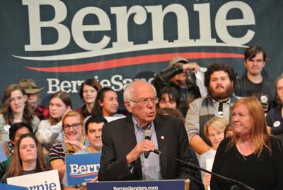 Bernie Sanders in Keene