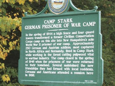 Roadside History: Camp Stark, NH's WWII German POW camp, housed about 250 soldiers