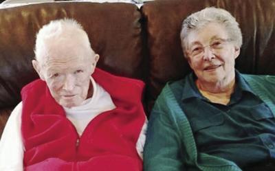 55th anniversary: Mr. and Mrs. Wood