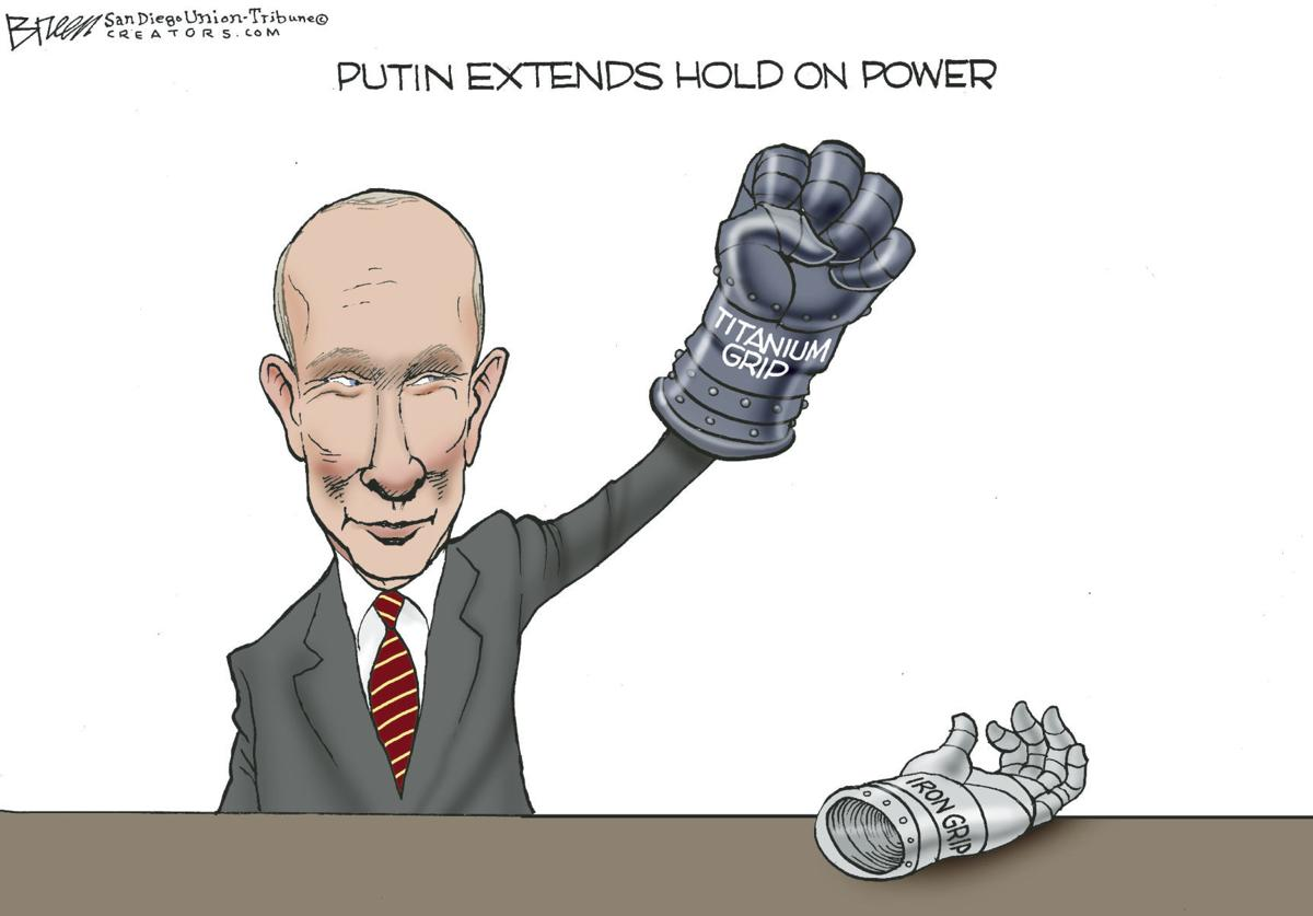 Editorial Cartoon, Jan. 17, 2020