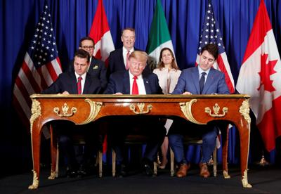 USMCA signing ceremony at the G20 in Buenos Aires