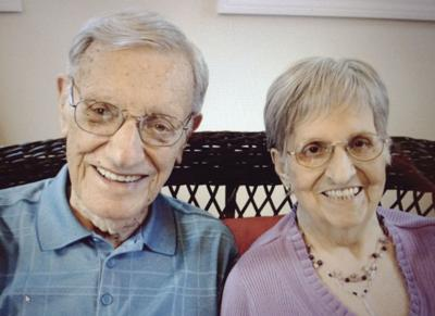 70th anniversary: Mr. and Mrs. Guimond