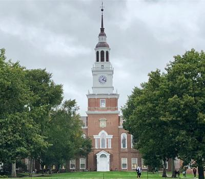 Dartmouth warns clothing company over Indian logo