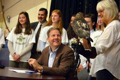Governor signs bill making red-tailed hawk official state raptor