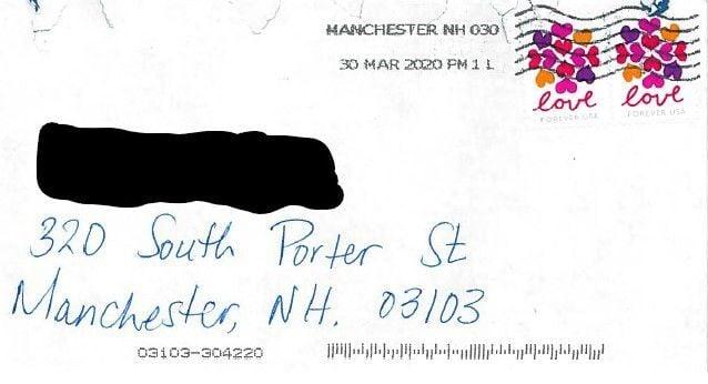 South Porter letter
