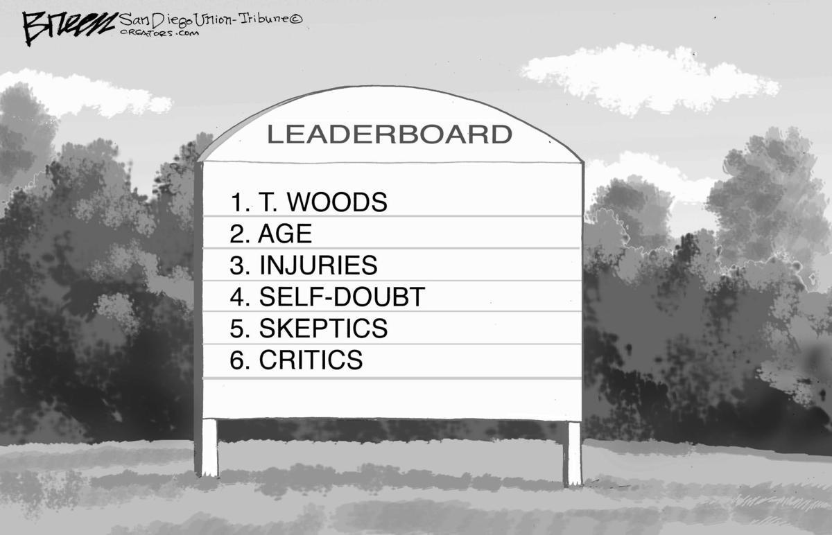 Editorial Cartoon, April 17, 2019