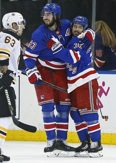 NHL: Boston Bruins at New York Rangers
