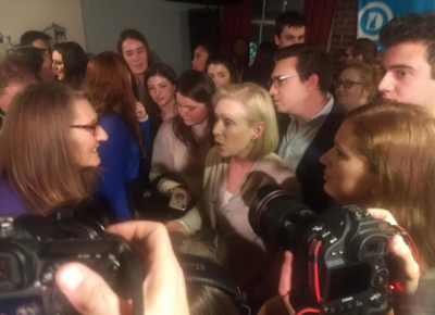 Kirsten starts NH 2020 bid with young Democrats in Manchester
