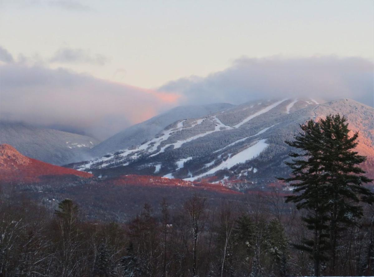 Alpenglow at Cannon