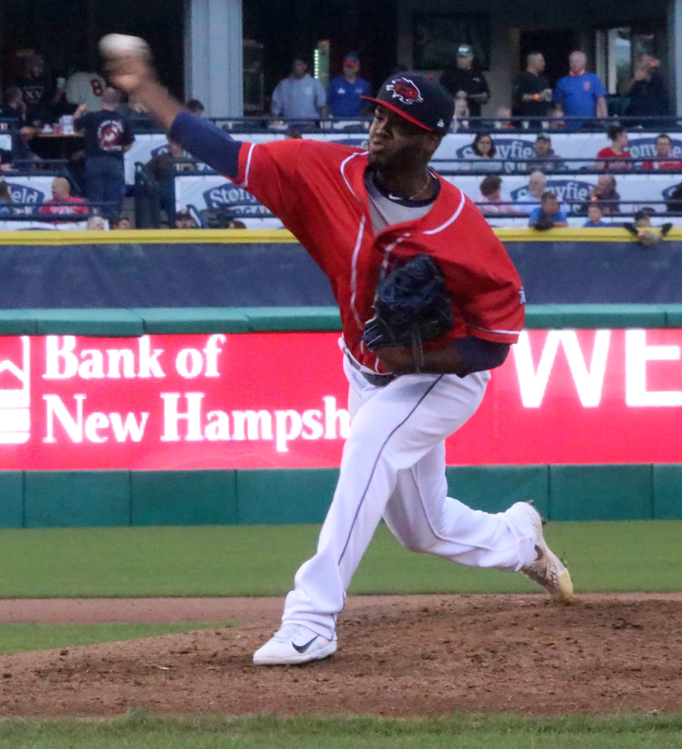 Fisher Cats pitcher
