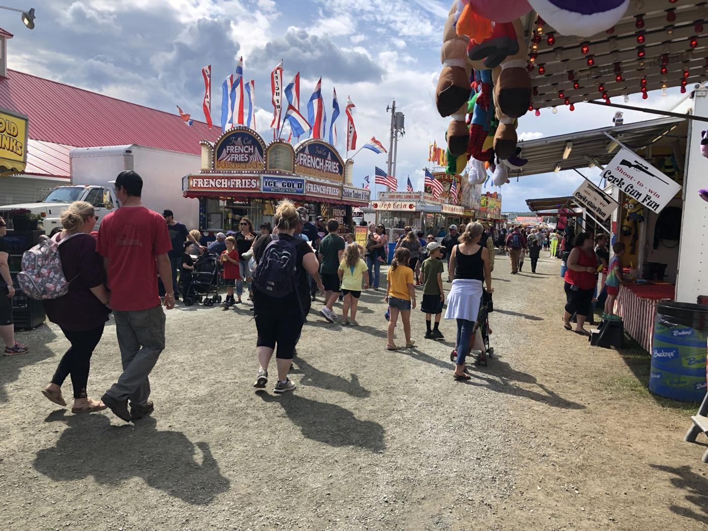 Lancaster Fair midway