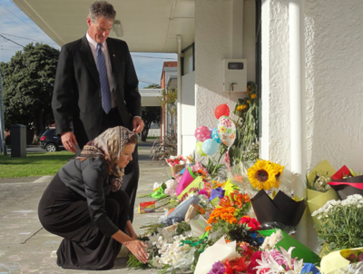 U.S. Ambassador Brown says New Zealand people rallying after mass murder