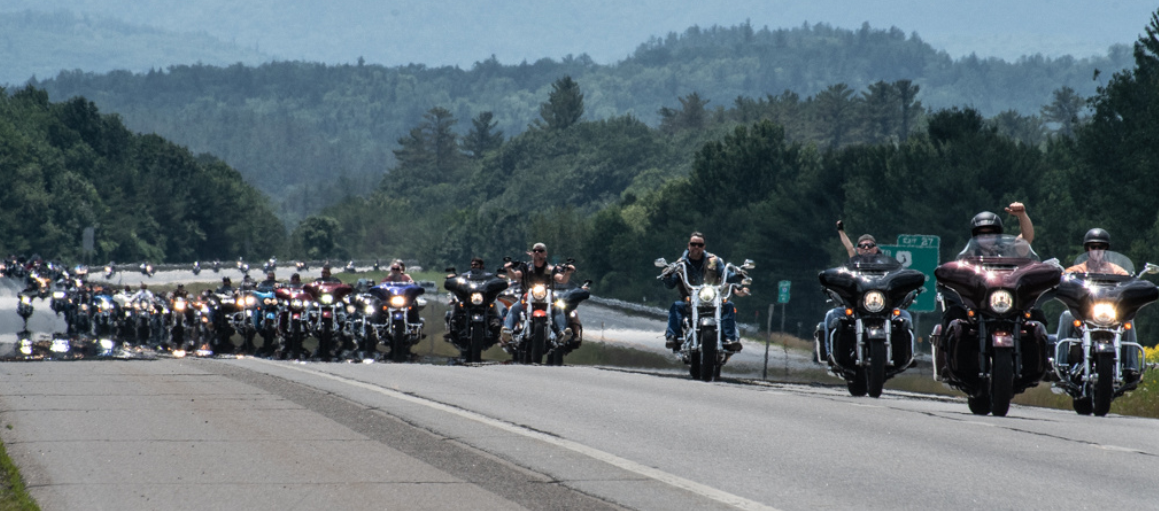 Riders come to pay homage to Fallen 7
