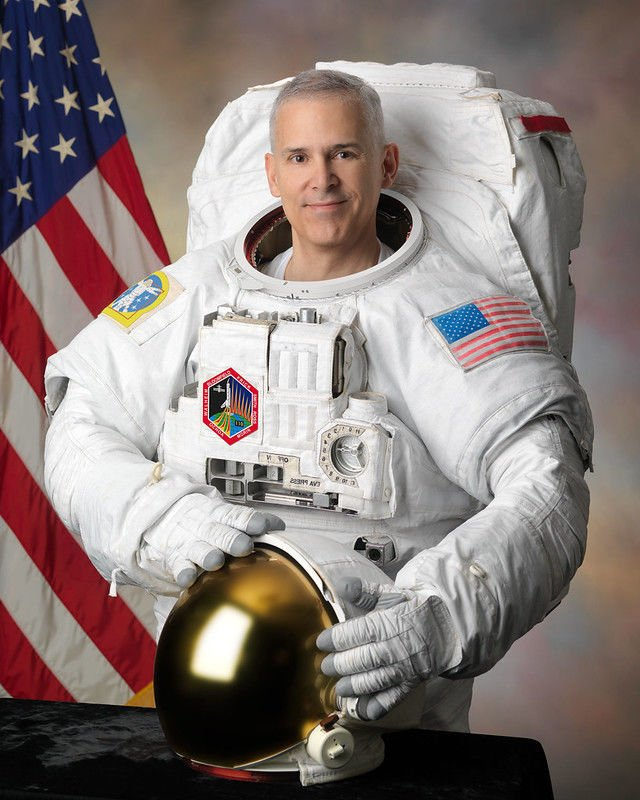 NASA astronaut Lee Morin