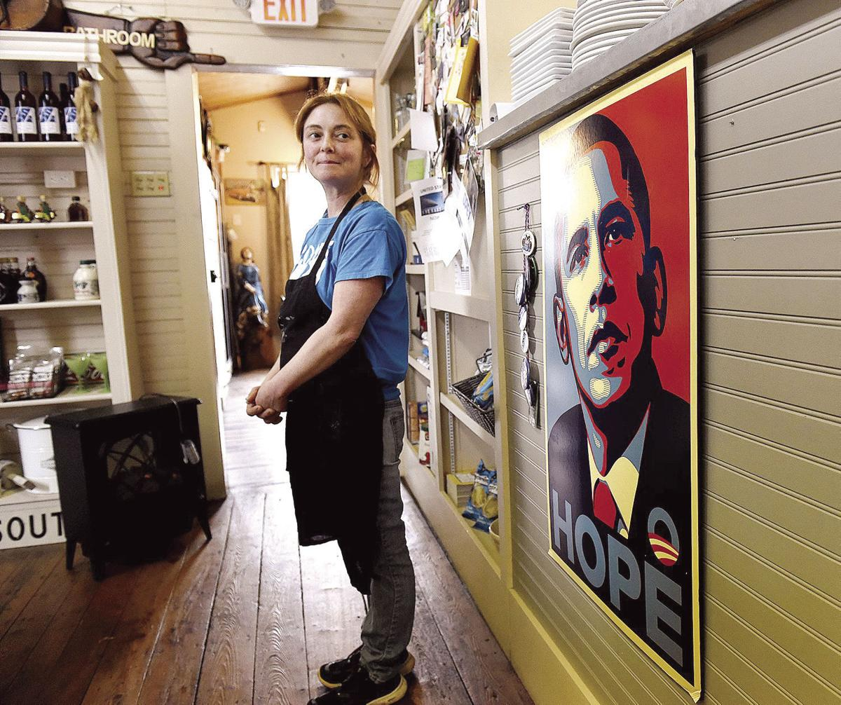 Mark Hayward's City Matters: Obama poster pits tenant against ownership at Robie's store