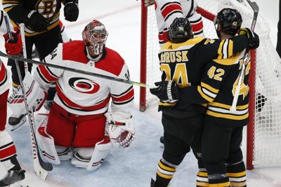 NHL: Stanley Cup Playoffs: Carolina Hurricanes at Boston Bruins