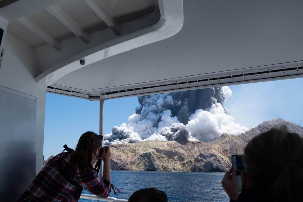 After volcanic eruption kills 15, New Hampshire native pulls television show featuring White Island from PBS