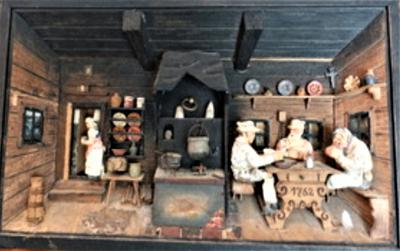 Diorama is style of Black Forest