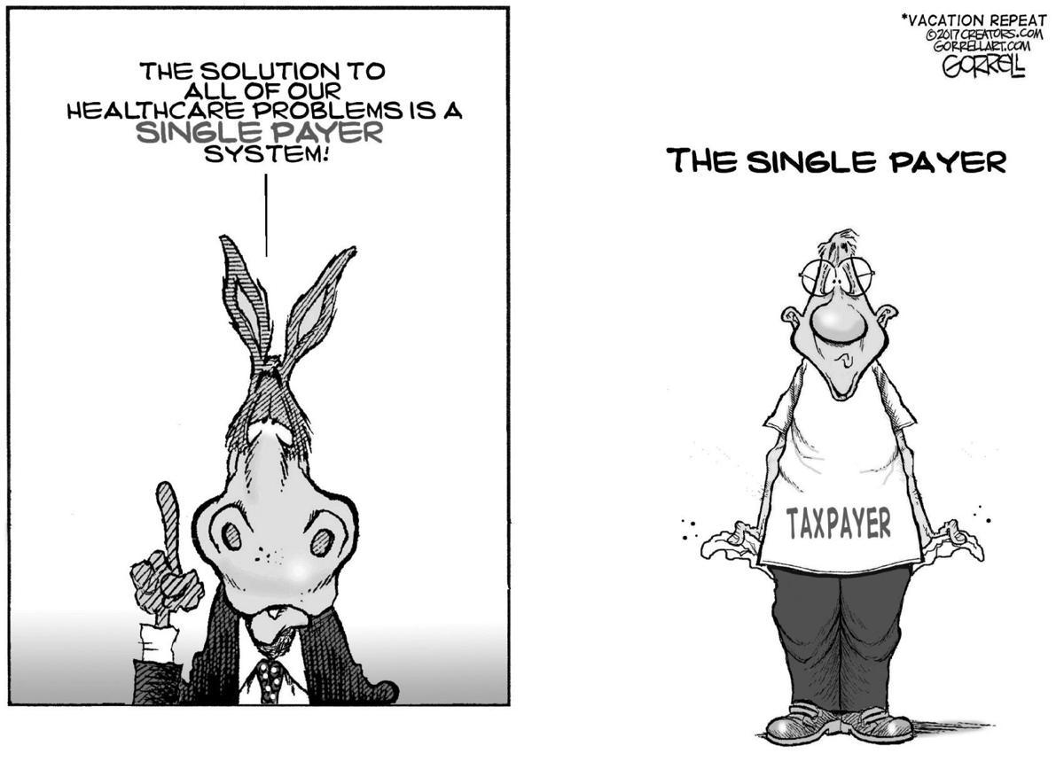 Editorial Cartoon, June 25, 2019
