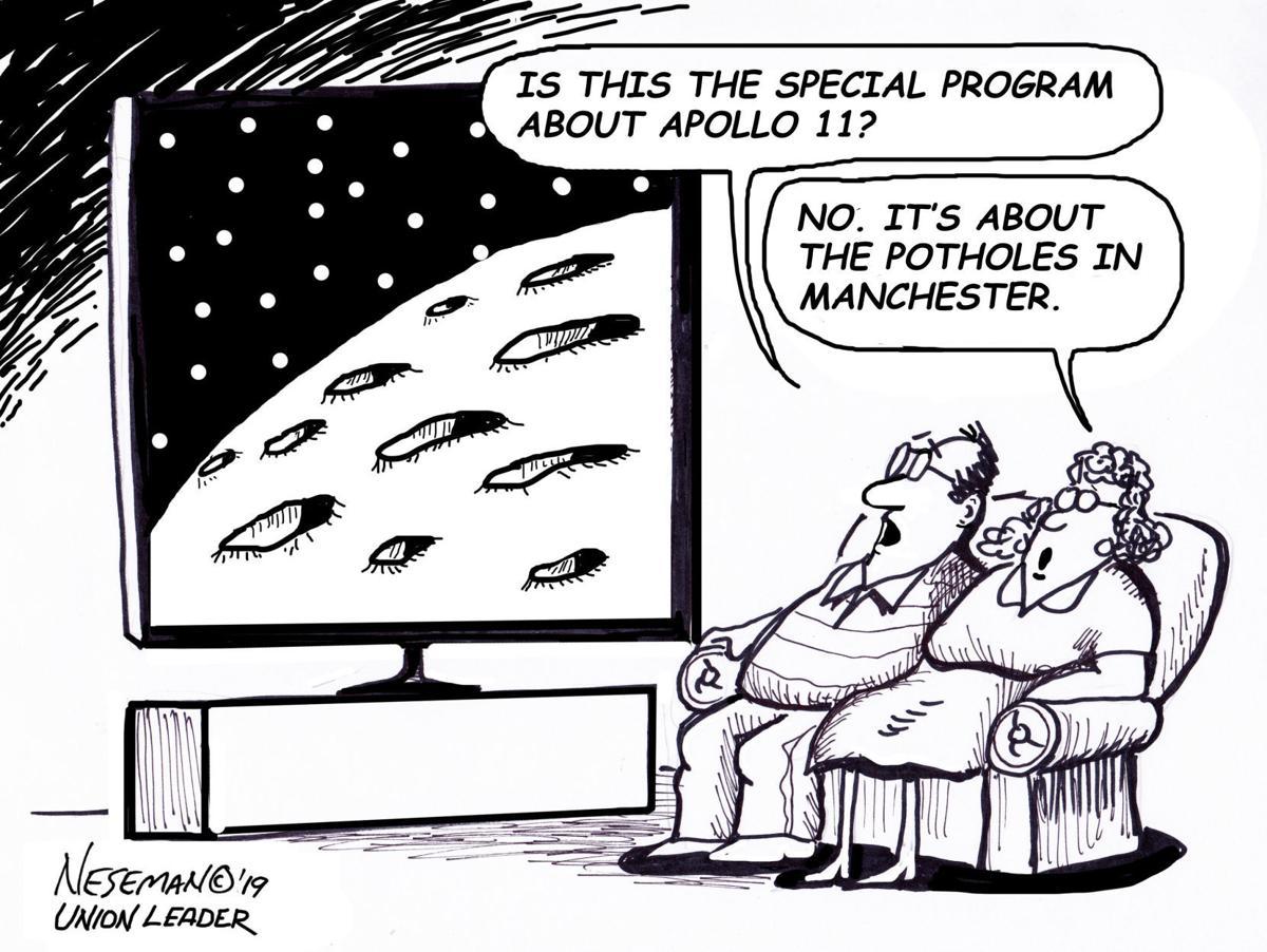 Editorial Cartoon, March 24, 2019